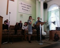 Давид Лексункин, Диана Лексункина, церковь в Волгограде